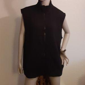 Men's Black Mock Neck Vest Goodfellow & Co™ BNWT